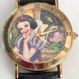 Snow White & Dopey 45th anniversary watch & coin